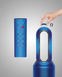 dyson purificateur d 39 air pure hot cool link bleu acier. Black Bedroom Furniture Sets. Home Design Ideas