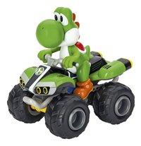 Carrera auto RC Mario Kart8 Yoshi-Rechterzijde