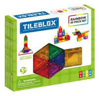 Tileblox Rainbow 30 stukjes-Linkerzijde