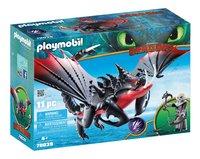 PLAYMOBIL Dragons 70039 Aggripemort et Grimmel-Côté gauche