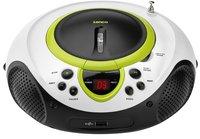 Lenco draagbare radio/cd/mp3-speler SCD-38 groen-Vooraanzicht