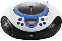 Lenco radio/lecteur CD portable SCD-38 bleu