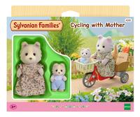 Sylvanian Families 4281 - Fietsen met mama-Vooraanzicht