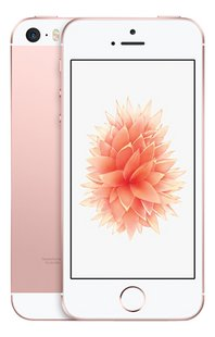 Apple iPhone SE 64 Go or rose