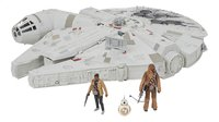 Set de jeu Star Wars Battle Action Millennium Falcon
