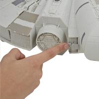 Set de jeu Star Wars Battle Action Millennium Falcon-Arrière
