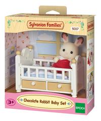 Sylvanian Families 5017 - Bébé Lapin Chocolat-Côté droit