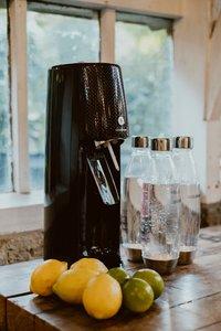 SodaStream Sodamaker Spirit Black Mega Pack zwart met 4 glazen-Afbeelding 3