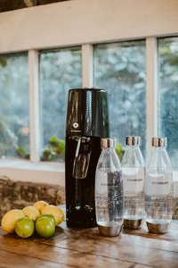 SodaStream Sodamaker Spirit Black Mega Pack zwart met 4 glazen-Afbeelding 4