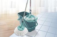 Leifheit CleanTwist set avec balai à franges bleu-Détail de l'article