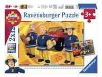 Ravensburger puzzle 2 en 1 Sam le pompier au travail