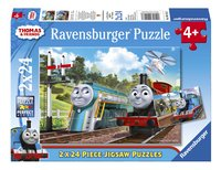 Ravensburger puzzel 2-in-1 Thomas & Friends-Vooraanzicht