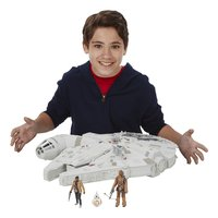 Speelset Star Wars Battle Action Millennium Falcon-Afbeelding 2