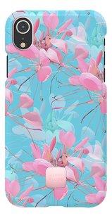 Happy Plugs cover voor iPhone Xr Botanica Exotica-Vooraanzicht