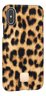 Happy Plugs coque pour iPhone X/Xs Leopard-Côté gauche