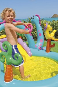 Intex opblaasbaar speelcenter Dinoland-Afbeelding 3