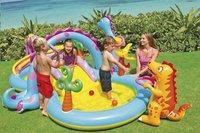 Intex aire de jeu gonflable Dinoland-Image 1