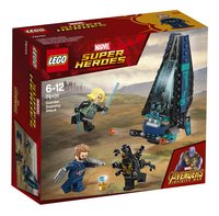 LEGO Super Heroes 76101 Outrider shuttle aanval-Linkerzijde