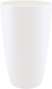 Elho bloempot Brussels Diamond round high white diameter 40 cm