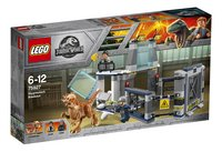 LEGO Jurassic World 75927 L'évasion du Stygimoloch-Côté gauche