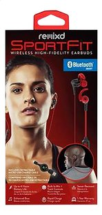 ReTrak oortelefoon Bluetooth Sports Earbuds rood-Vooraanzicht