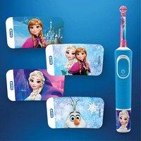 Oral-B Brosse à dents électrique Disney La Reine des Neiges Kids 3+ D100-Image 3