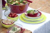Rosti Mepal 6 platte borden 26 cm lime-Afbeelding 1
