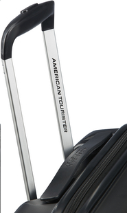 American Tourister harde reistrolley Aero Racer Spinner Jet Black 55 cm-Bovenaanzicht