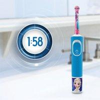 Oral-B Brosse à dents électrique Disney La Reine des Neiges Kids 3+ D100-Image 4