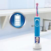 Oral-B Brosse à dents électrique Disney La Reine des Neiges Kids 3+ D100-Image 5