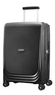 Samsonite Valise rigide Optic Spinner metallic black 55 cm
