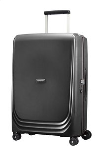 Samsonite Harde reistrolley Optic Spinner metallic black 69 cm-Vooraanzicht
