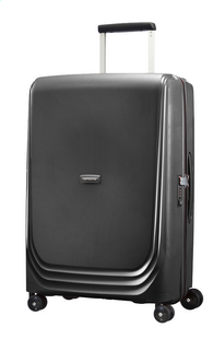 Samsonite Valise rigide Optic Spinner metallic black 69 cm