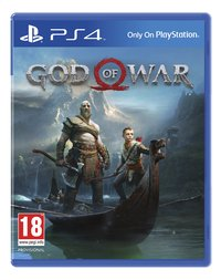 PS4 God of War ENG/FR-Vooraanzicht