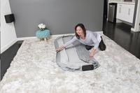 Bestway zelfopblazende luchtmatras voor 1 persoon Tritech Airbed Twin Gray-Afbeelding 6