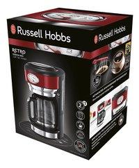 Russell Hobbs Koffiezetapparaat Retro Red Glass 21700-56-Rechterzijde
