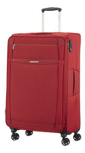 Samsonite Valise souple Dynamo Spinner EXP red 78 cm