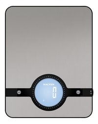 Salter Digitale keukenweegschaal Geo SA 1240 zilvergrijs-Vooraanzicht