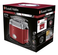 Russell Hobbs Grille-pain Retro Red 21680-56-Côté droit