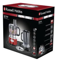 Russell Hobbs Compacte foodprocessor Retro Red 25180-56-Rechterzijde