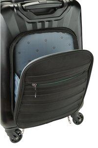 Princess Traveller harde reistrolley Nice met Powerbank zwart 55 cm-Artikeldetail