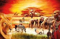 Ravensburger puzzle La fierté du Massaï-Avant