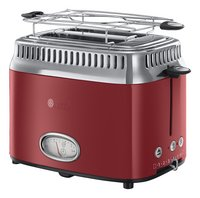 Russell Hobbs Grille-pain Retro Red 21680-56-commercieel beeld