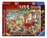 Ravensburger puzzel De laatste voorbereidingen van de kerstman-Vooraanzicht