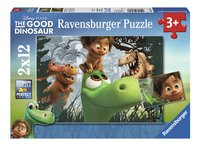 Ravensburger Puzzel 2-in-1 The Good Dinosaur Spot en de dinosaurussen