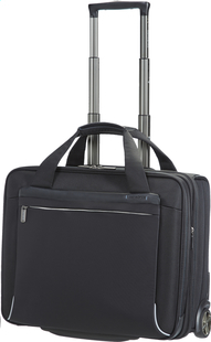 Samsonite Businesstrolley Spectrolite Rolling Tote EXP 17,3/ black-Vooraanzicht