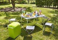 Cordoba opklapbare tafel en 4 kampeerkrukken-Afbeelding 1