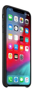 Apple Cover leder iPhone Xs Max zwart-Linkerzijde