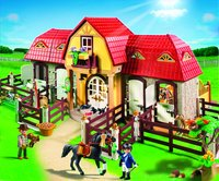 Playmobil Country 5221 Grote paardenranch-Afbeelding 1