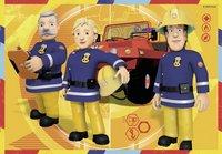 Ravensburger puzzle 2 en 1 Sam le pompier au travail-Avant
